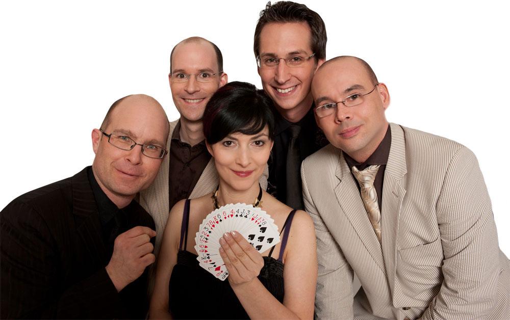 Zauber-Dinner Team